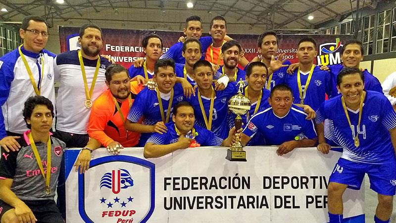 Selección de Futsal USIL logró el ascenso
