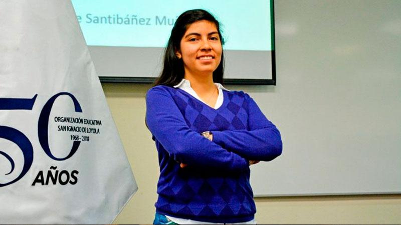 Michelle Santibáñez Muñoz, expuso acerca deDevops.