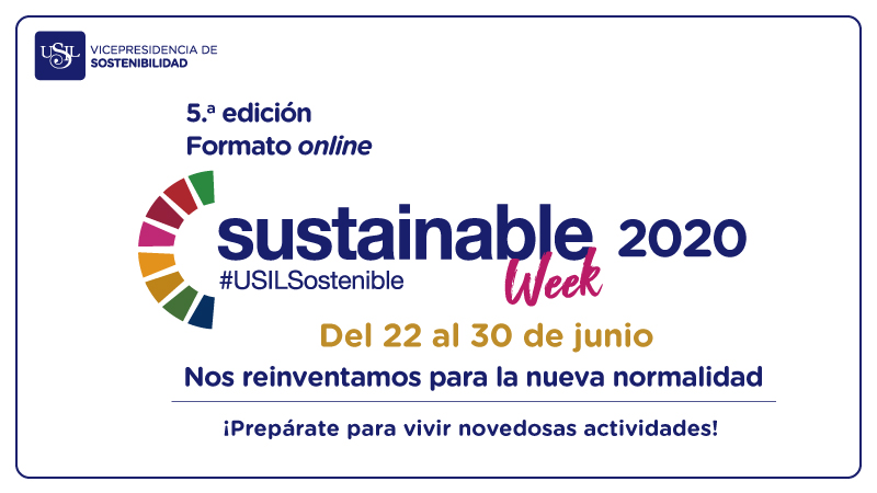 sustainable week 2020